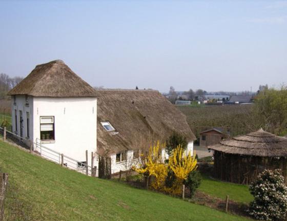 traditional dike-house as design inspiration