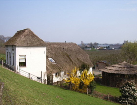 traditional dike-house as design inspiration